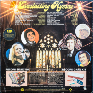 Ktel - Everlasting Hymns - NA504 - Back cover