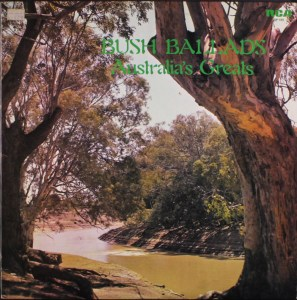 RCA - Bush Ballads - SP189 - Front cover