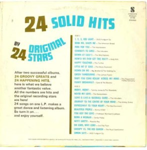 Majestic - Solid Hits - SH700 - Back cover