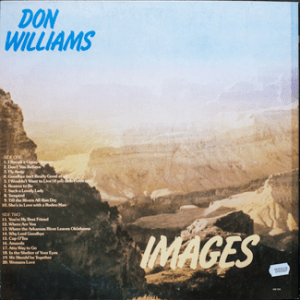 Ktel - Don Williams - Images - NA528 - Back cover