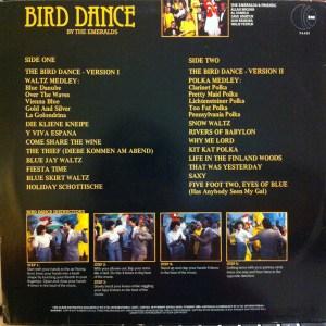 K-tel - NA 613 - Bird Dance - Back cover