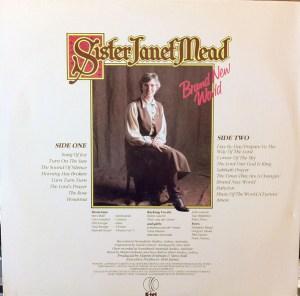 K-tel - NA 648 - Sister Janet Mead - Back cover