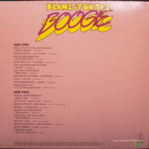 K-tel - NA664 - Blame it on the Boogie - Back cover