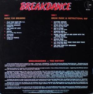 K-tel - NA673 - Break Dance - Alex & the Crew - Back cover - temp