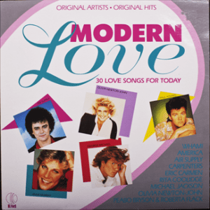 K-tel - NA691 - Modern Lover - Front cover