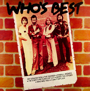 k-tel - NA575 - The Who - Whos Best - Front cover - Temp