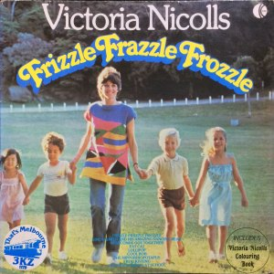 k-tel - NA589 - Victoria Nicholls - Frizzale Frazzle Frozzel - Front cover - TEMP