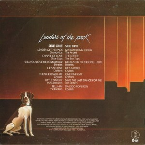 NA703 - Leaders of the pack - back cover