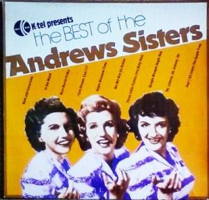 K-tel - NA529F - Andrews Sisters