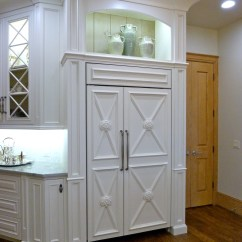 Kitchen Remodel Okc Slab Cabinets Remodeling Oklahoma City Majestic Construction Overlay Refridgerator In Remodeled By
