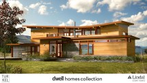 Gull Wing Roof House Plans
