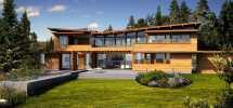 Majestic Peaks Custom Homes Premier Lindal Cedar