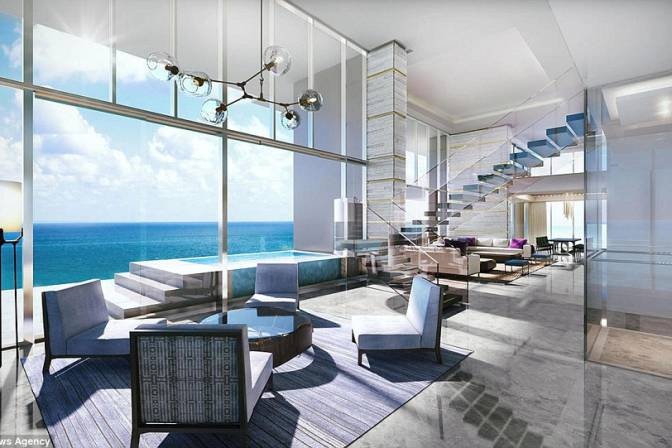 Inside Dubais most expensive  luxurious penthouses