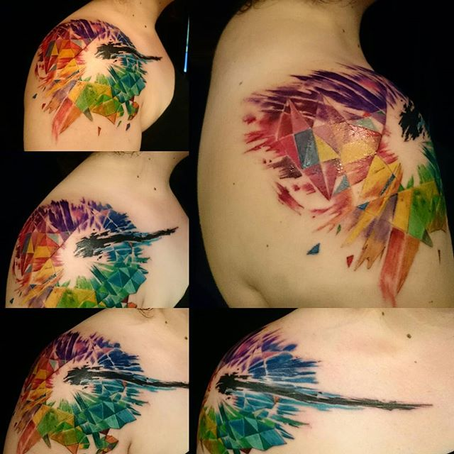 Fractal Amp Psychedelic Tattoos Majestic Tattoo Nyc