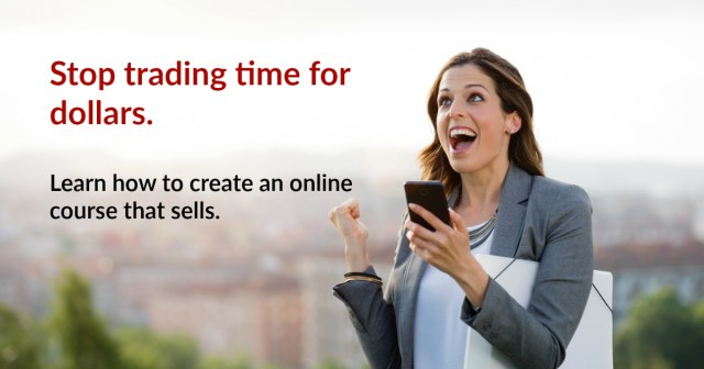 create an online course that sells