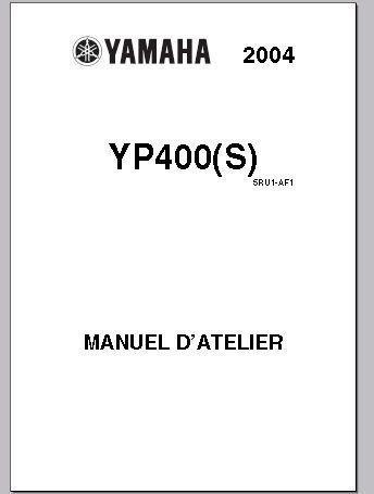 REVUE TECHNIQUE YP400