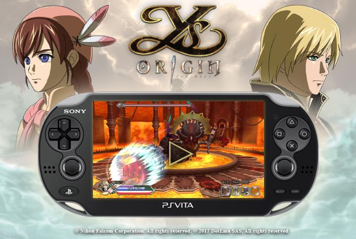 Avis : Ys Origin PS Vita