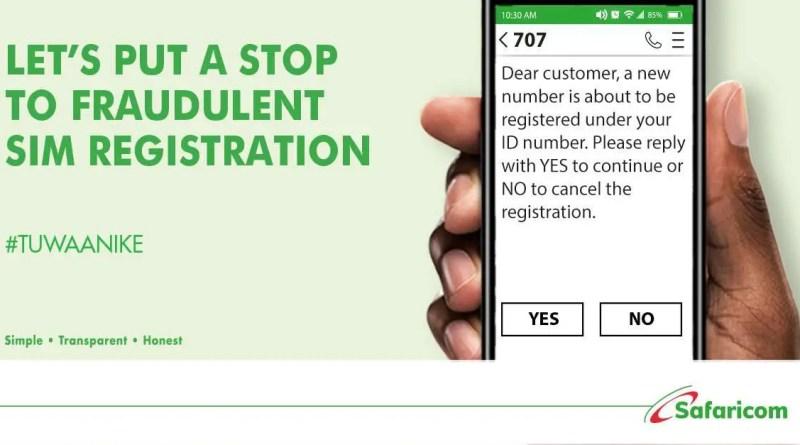 Safaricom Fraud alert