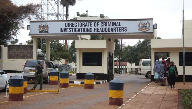 DCI Arrests police officers