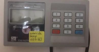 blank prepaid meter