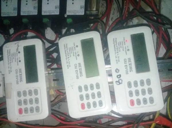 how to fix blank prepaid meter