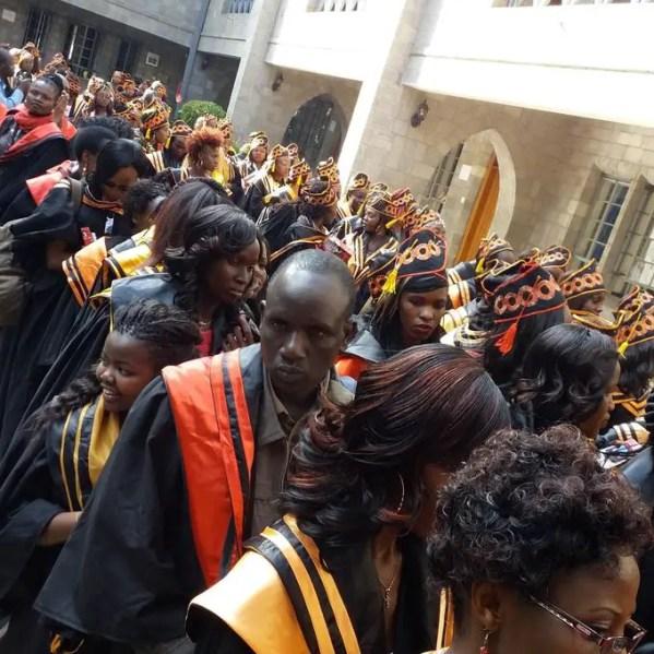 Vera beauty graduation Ceremony