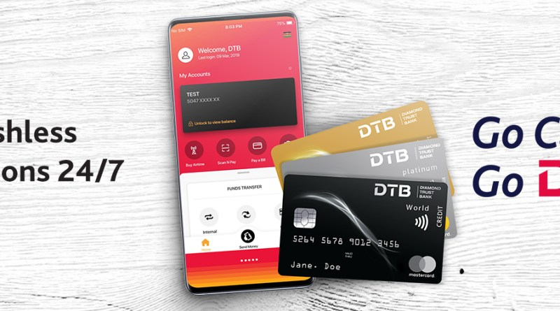 How to deposit money in your Diamond Trust Bank (DTB) account using Mpesa