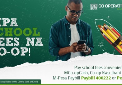 The easiest way to pay school fees with Co-operative bank