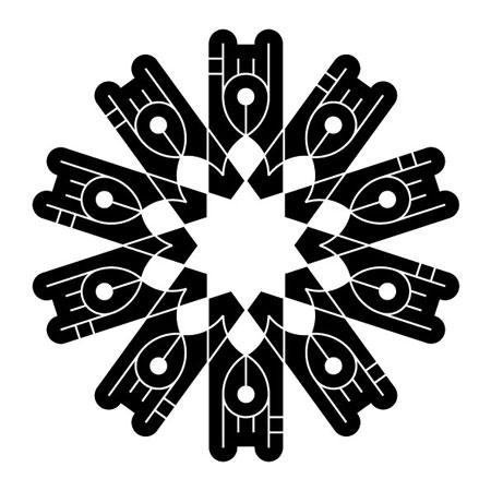 Original design for a black & white publication