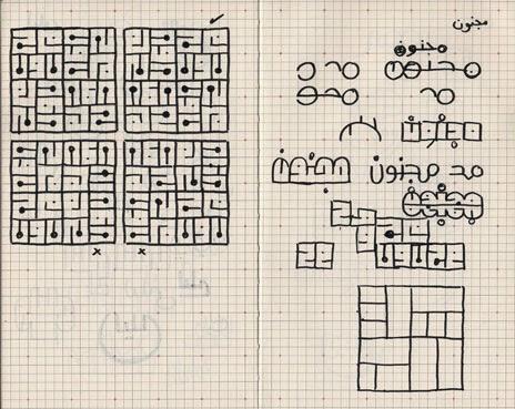 Sketches for Majnoun