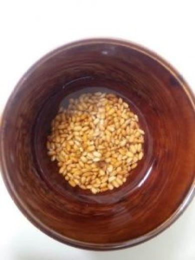 赤米、黒米は水に漬ける