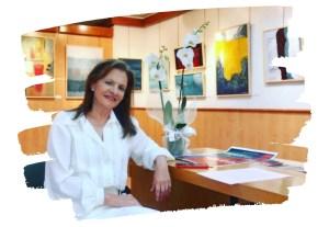 María José Cano   Expresionismo abstracto exposición wabi sabi en Granada