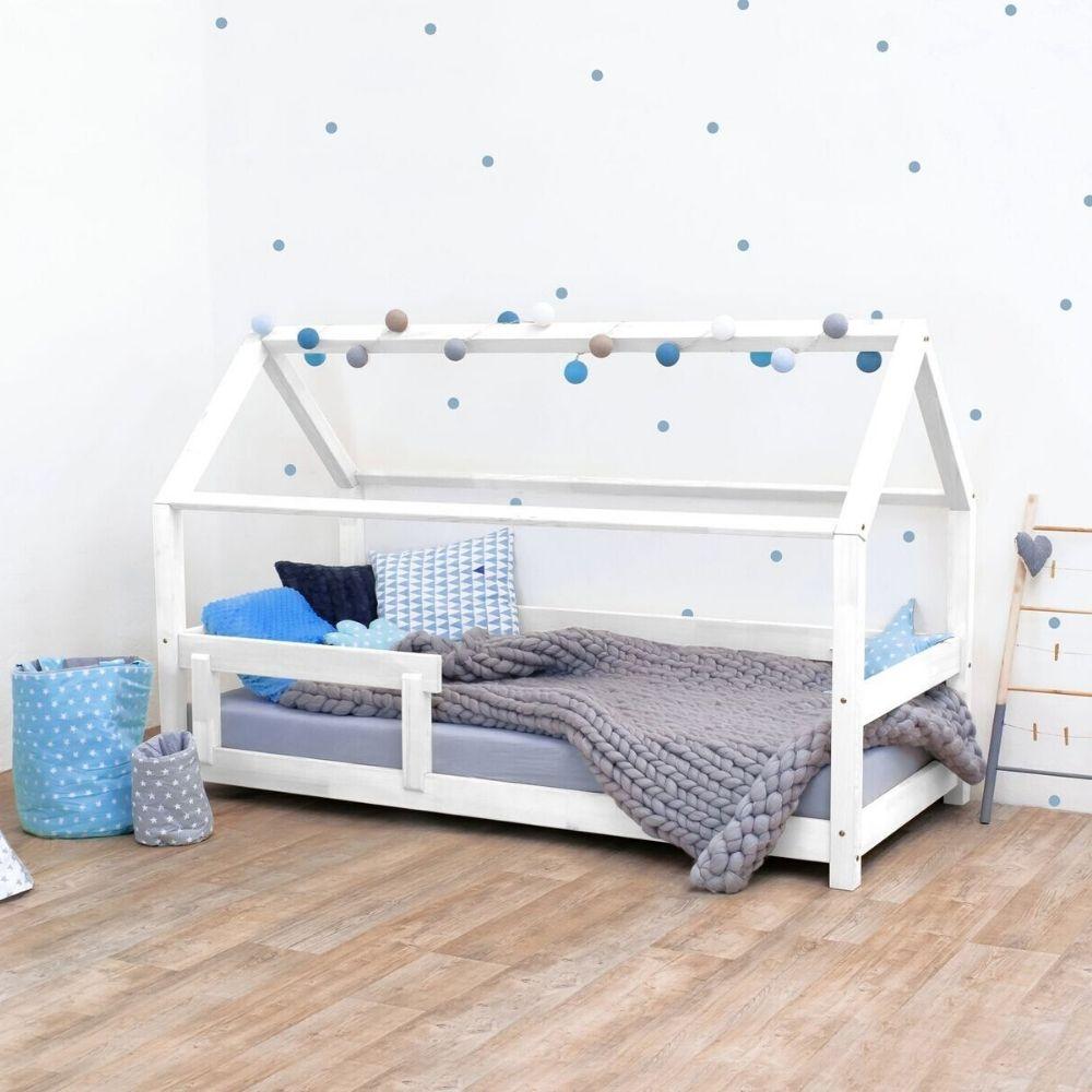 lit cabane tery blanc