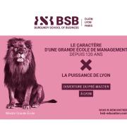 BSB mange du Lyon : ouverture du pré-master dès la rentrée 2021