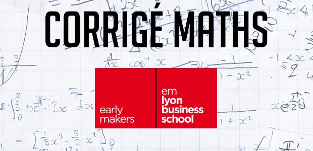 Annales maths EM Lyon