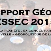 Rapport – Géopolitique ESSEC 2015