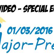 Live vidéo Major-Prépa spécial écrits