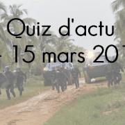 Quiz d'actu : 1 – 15 mars 2016