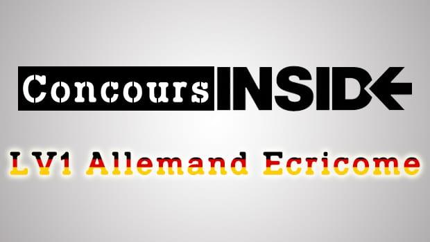 LV1 Allemand Ecricome 2016 – Analyse du sujet