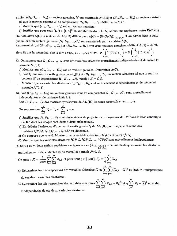 Maths HEC S5