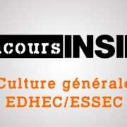 Derniers conseils avant l'épreuve de culture générale EDHEC-ESSEC 2019