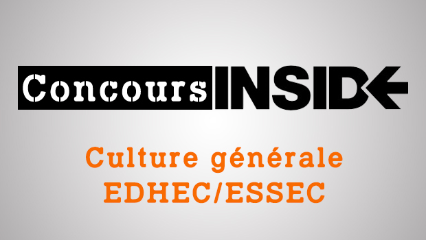 L'épreuve de culture générale EDHEC-ESSEC 2018 ne sera pas à repasser