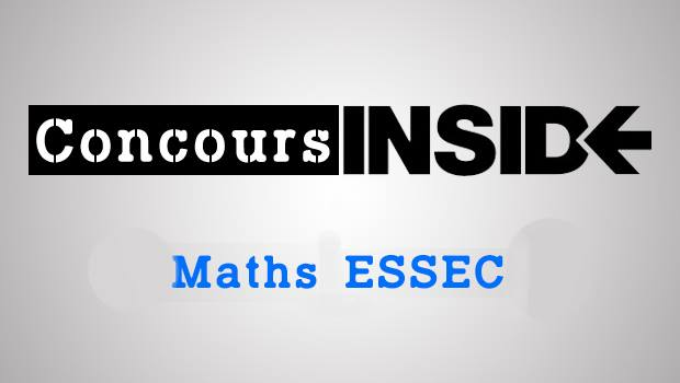 Maths ESSEC 2016 ECE – Sujet