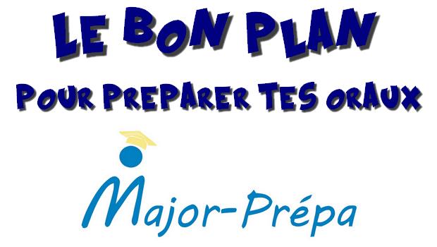Bon plan oraux : une préparation tous frais payés !