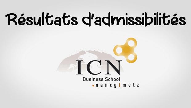 Résultats d'admissibilités ICN 2017