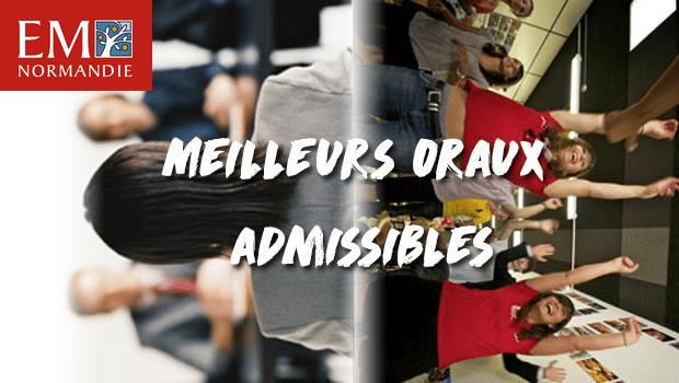 Vote EM Normandie – Concours des meilleurs oraux admissibles 2017