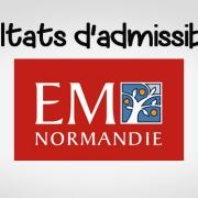 Résultats d'admissibilités EM Normandie 2018