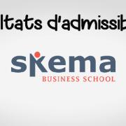 Résultats d'admissibilités SKEMA 2019