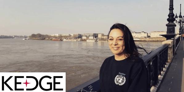 Interview de Kawthar, étudiante à Kedge Bordeaux