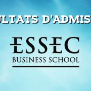 Résultats d'admissions ESSEC 2018